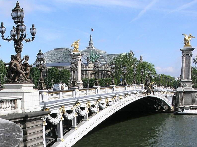 minibus avec chauffeur Pont Alexandre-III (Paris) location de bus avec chauffeur